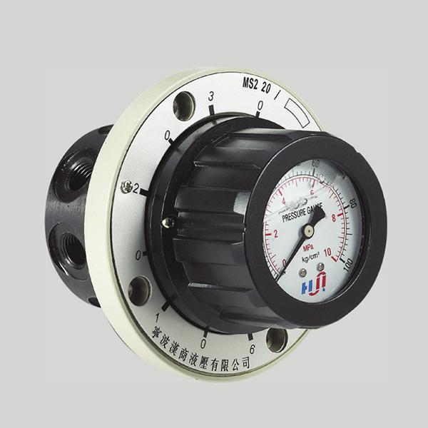 AM6E REEKS drukmeter SWITCH MET 6 PUNTE Voorgestelde Image